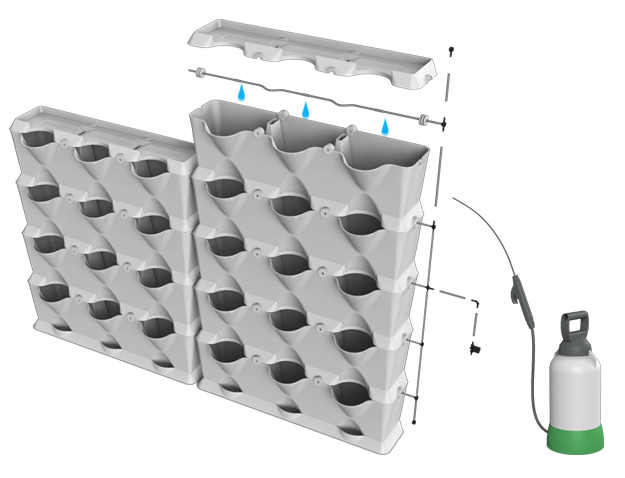 Ручная система капельного полива